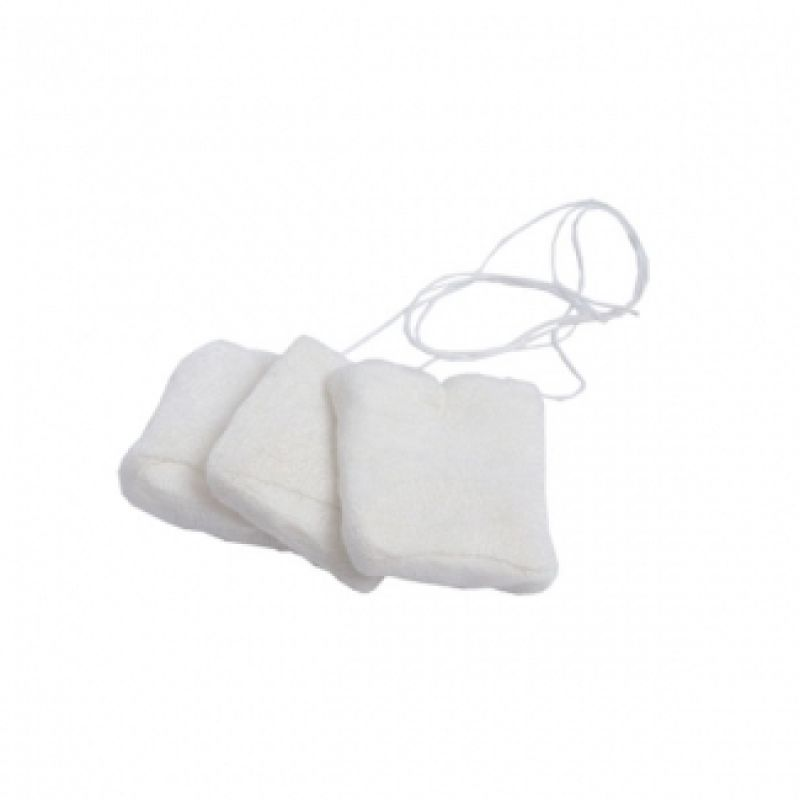 Uno Dent Cotton Throat Pack 6x6 With String